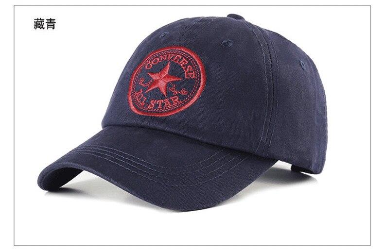 Gorra ajustable con letras a la moda 005