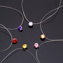 Dazzling Stone Necklace Pendant