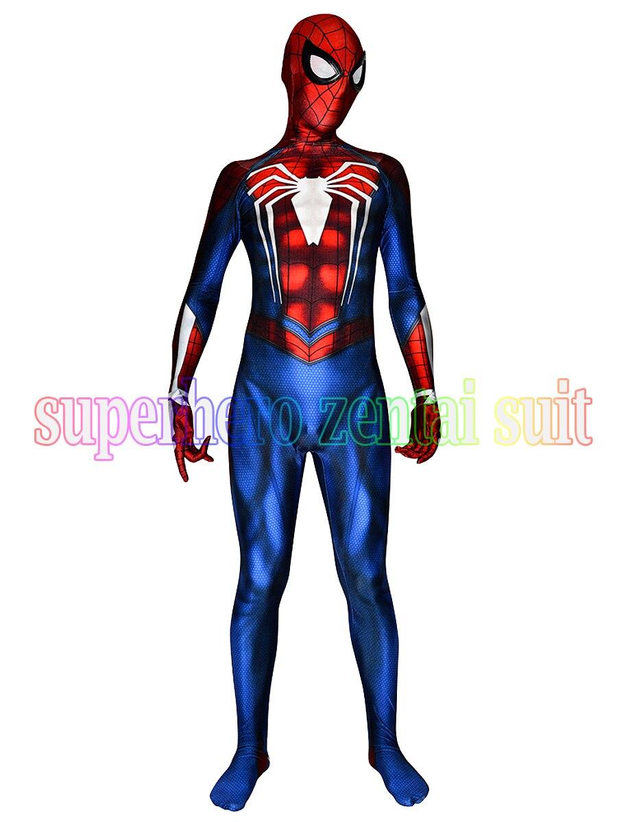 aliexpress com buy new ps4 insomniac spiderman costume 3d print