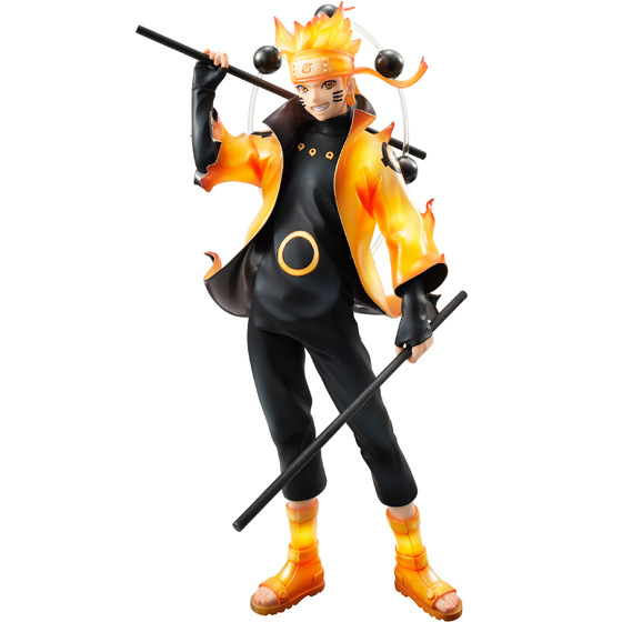 New 22cm Naruto Uzumaki Naruto Action Figures Anime PVC Brinquedos Collection Model Toys Free Shipping