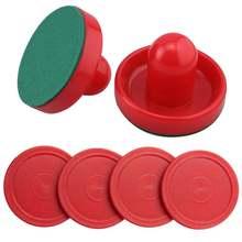 Бесплатная доставка набор из двух красных хоккейных толкачей