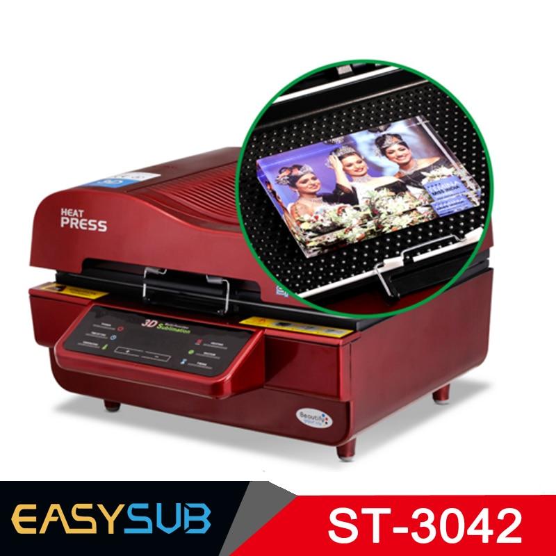 ST 3042 3D Stampante A Sublimazione 3D di Calore di Vuoto Presse di Trasferimento Macchina da Stampa per il Telefono Custodie Tazze Piatti Occhiali - 2