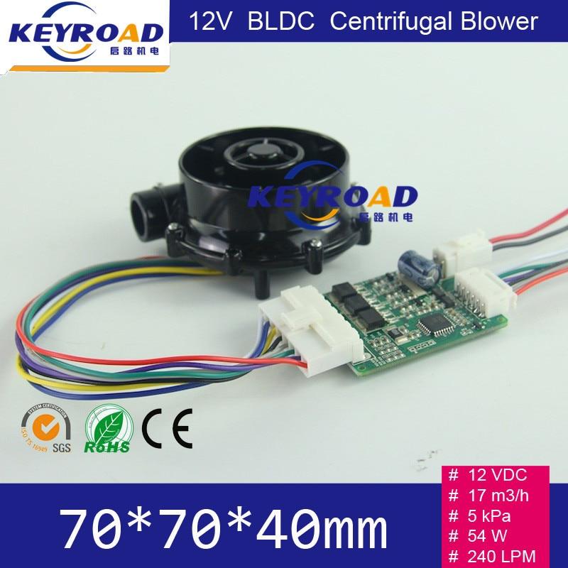 12V 54W 17m3 / h Micro ventilatore DC senza spazzola ad alta - Utensili elettrici - Fotografia 5