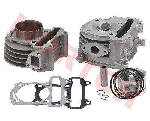 100cc (GY6 Big Bore) high performance cylinder kit for 50cc GY6 139QMB for Scooter ATV Go Karts Moped (50mm) Free Shipping