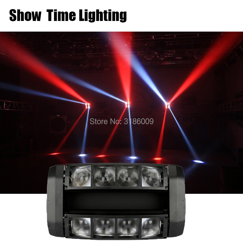 Fast delivery powerful Disco led dj light use for party KTV bar led beam spider moving head light show home entertainment dance in Stage Lighting Effect from Lights Lighting