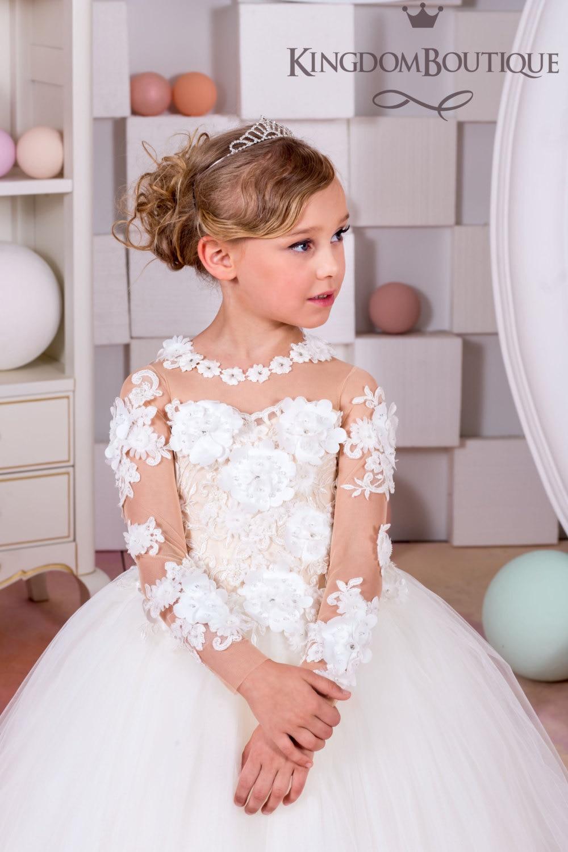 kinder jugendliche kleidung 10 12 jahr kleider für mädchen 11 jahre mädchen  ballkleider für kinder voller weißer spitze bestnote hochzeit kleid