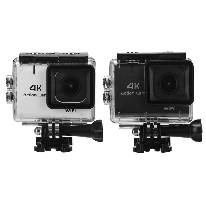 M22 1.8 inch Touch Control 4K WiFi 30m Waterproof Sport Action Camera DVR Support for up to 32G memory cards