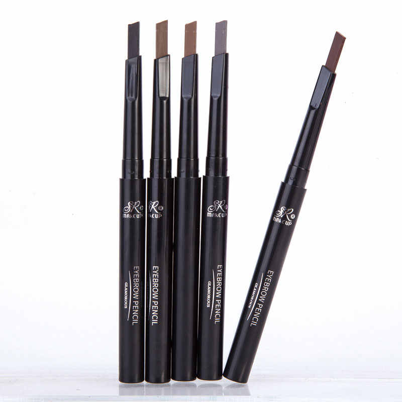 1 Pcs SR Make Up Alis Otomatis Tahan Air Pensil Makeup 5 Styles Cat Pensil Alis Kosmetik Alis Eye Liner alat