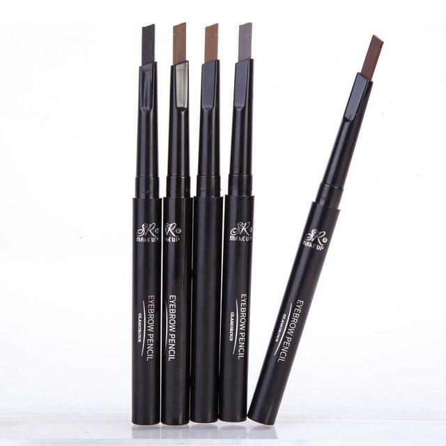 1 Pcs Brand SR MAKE UP Eyebrow Automatic Waterproof Pencil Makeup 5 Styles Paint Eyebrow Pencil Cosmetics Brow Eye Liner Tools
