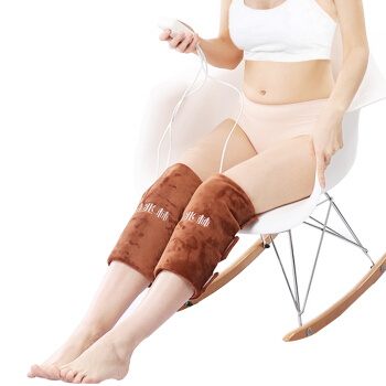 цена на Yu Zhaolin Electro-thermal Knee Pads Hot Compress Knee Physiotherapy Instrument Brown Leg Warmers