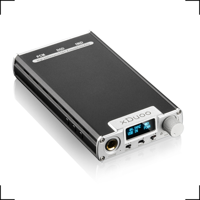 xDuoo XD-05 Portable Audio DAC Headphone AMP New Arrival Native DSD Decoding 32Bit/384KHz HD OLED Display Amplifier