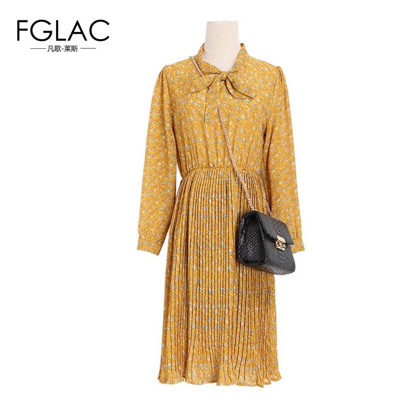 FGLAC New 2017 Spring font b Women b font dress font b Fashion b font Long