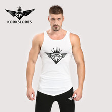 2017 brand clothing fitness gyms fitness man stringer sportswear gold sweater vest vest