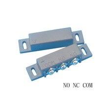 MC 31B NC i nie do montażu na powierzchni szczeliny magnetycznej przełącznik do drzwi i okna czujnik (czarny)