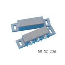 MC 31B nc & no 도어 및 윈도우 센서 용 표면 장착형 마그네틱 갭 스위치 (검정색)