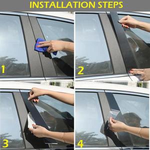 Image 5 - 10PC Window Pillar Posts trim Cover Molding for Mazda 6 Atenza 2014 2018 Middle BC Column Sticker for MAZDA 6 Strip