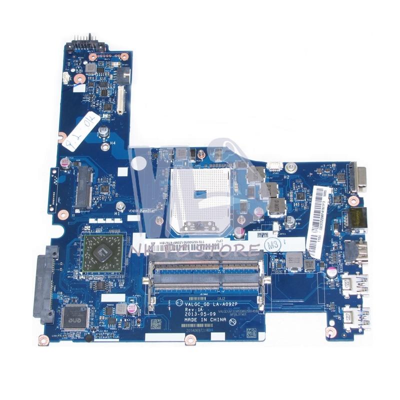 For Lenovo G505s Laptop Motherboard VALGC_GD LA-A092P 11S1025005 Socket Fs1 DDR3