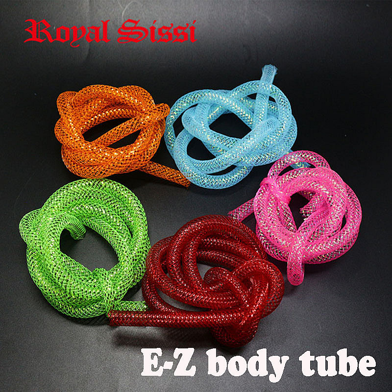 Royal Sissi 5yars / Set 5Colors Trenzado mixto EZ Tubing 8mm atado de - Pescando