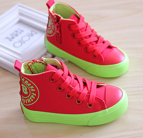 Aliexpress.com : Buy HOT sale Rainbow childrens shoes kids shoes ...
