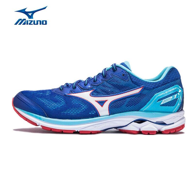 MIZUNO Men RIDER 21 Light Running Shoes Cushion Stability Sp
