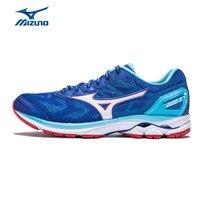 Mizuno Для мужчин Rider 21 легкие кроссовки подушки стабильность спортивная обувь удобные дышащие кроссовки J1GC180302 XYP623