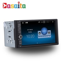 Dasaita 7 Android 7.1 Car GPS Player Navi for Universal 2 DIN with 2G+16G Quad Core Car Stereo Multimedia No DVD Bluetooth DAB+