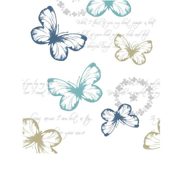 Douchegordijn Vlinder Afbeelding Met Douchegordijn Haken Waterdicht