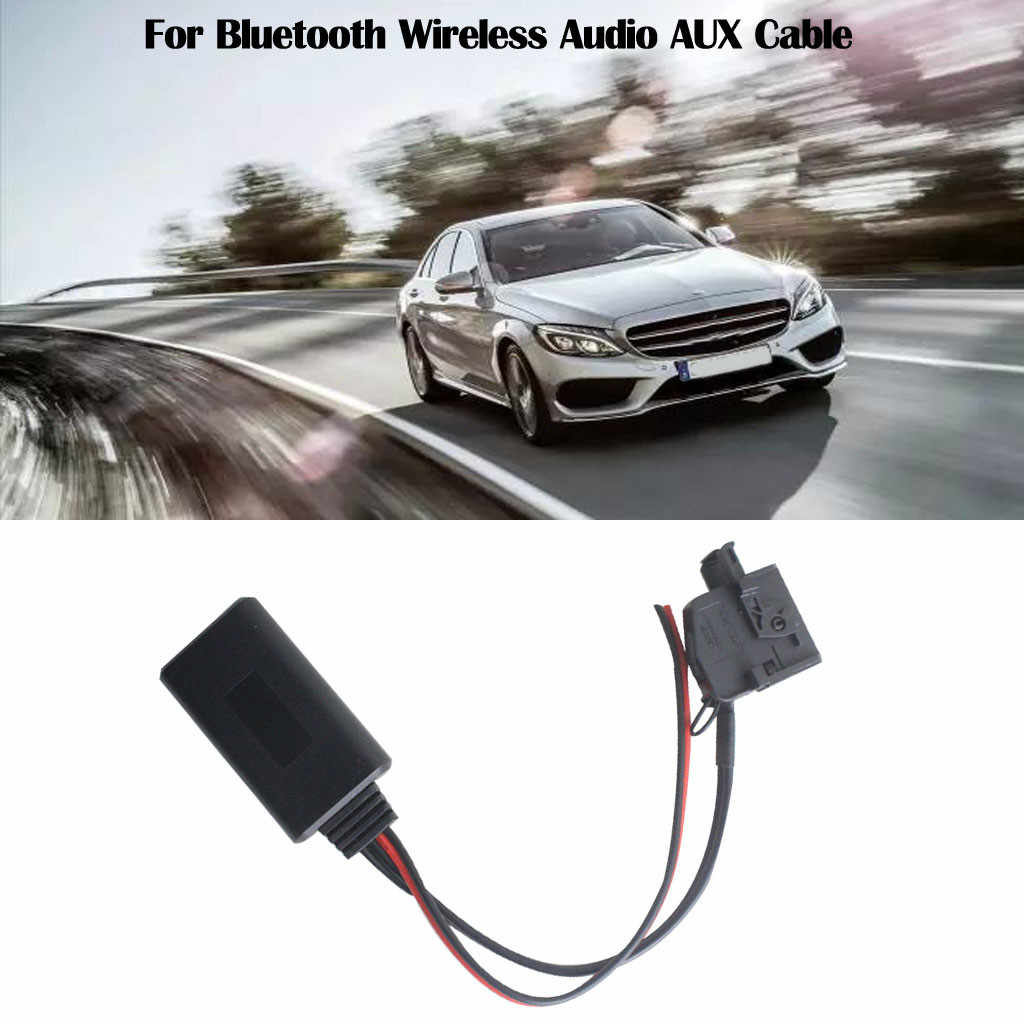Car Stereo Interface Bluetooth Wireless Audio Module Aux Cable Adapter Kit For Mercedes Comand 2.0 W211 R170 W164 Receiver Jun5