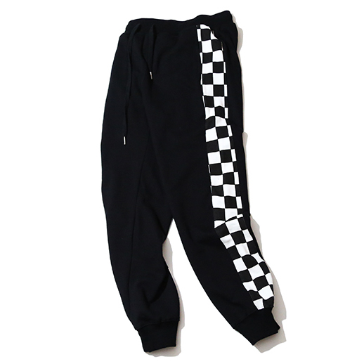 Mens Casual Pantalones de Chándal de Algodón A Cuadros
