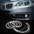 Новый автомобиль жк-ccfl из светодиодов глаза ангела фары из светодиодов чипа свет автомобиля супер яркость белого 6000 К авто фар для BMW E46 E36 E39 E318A04