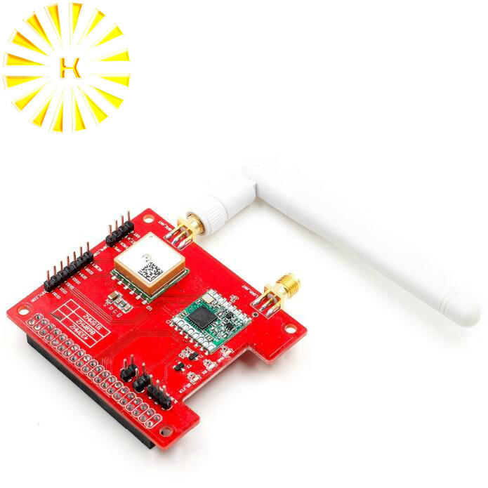LorGPS HAT V1.0 version Lora/GPS_HAT is a expension module for LoRaWan and GPS for ues with the Raspberry Pi Connector|Connectors|   - title=