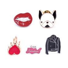 Pin Women Lips Jacket