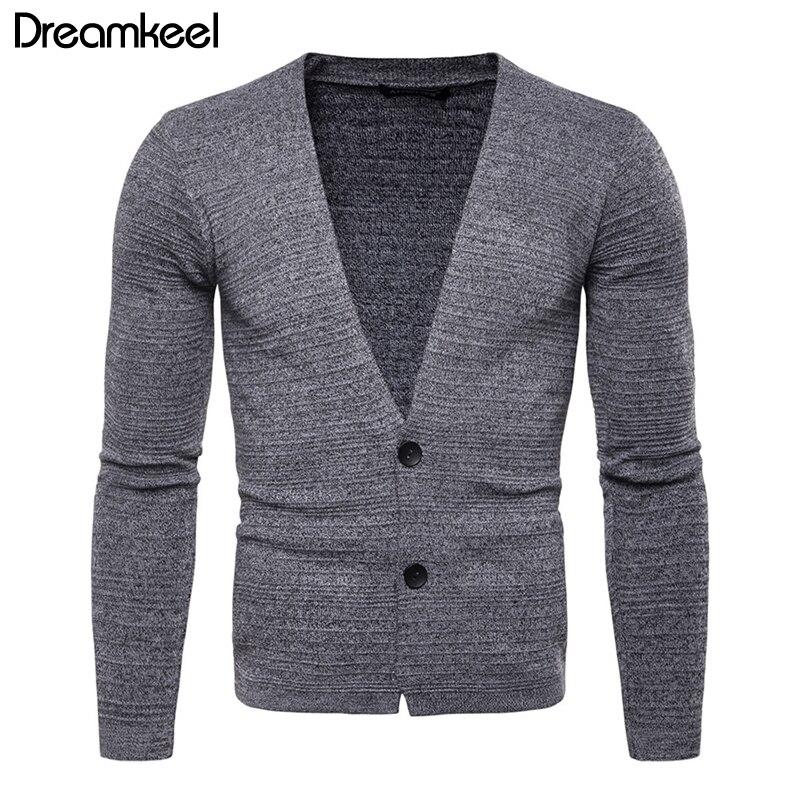 FäHig Männer Pullover Ungefüttert Obergewand Kleidung Jugend Mann Einfarbig Strickjacke Mann Selbst-anbau Stricken Pullover Lose Mantel Y