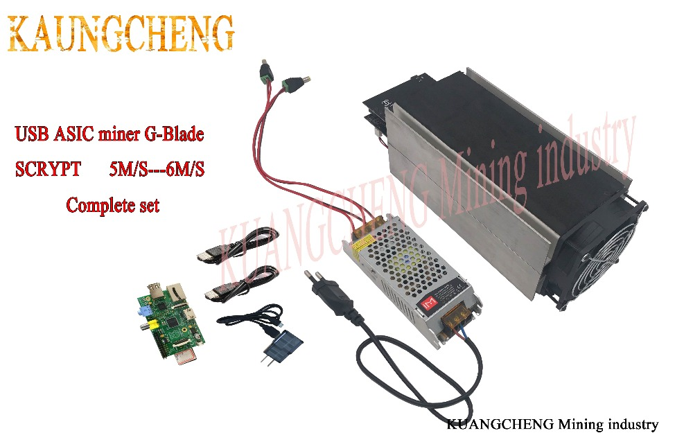 asic miner Gridseed Miner 5 2MH / S-6MH/S Set of Litecoin Mining Machines  Two Chainsaw Blades Set of USB Miners Best LTC Mining