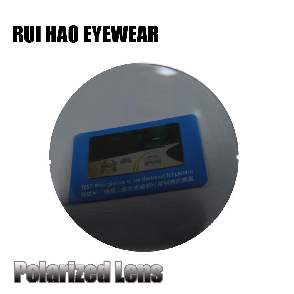 Herren-brillen Optische Polarisierte Objektiv 1,56 Index Grau Harz Linsen Hc Polarisierte Gläser Objektiv Brillen Sonnenbrille Myopie Presbyopie Brillen