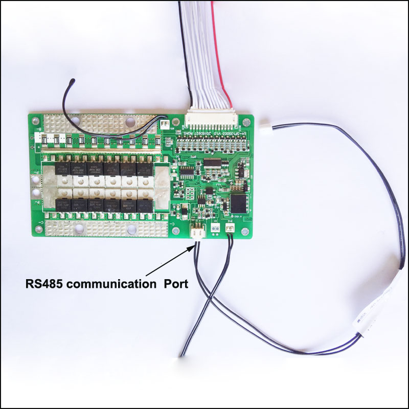 48V 13S smart BMS with RS485 Communication and PC software