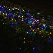 Solar string 7M 50 LED Powered Xmas garland fairy Camping christmas decoration waterproof Outdoor garden solar led light lamp