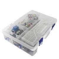 Arduino uno r3 uno r3 브레드 보드 및 홀더 용 스타터 키트 스텝 모터/서보/1602 lcd/점퍼 와이어/uno r3|kit for arduino|kit kitsjumper wire -