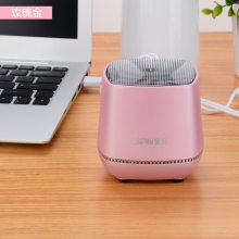 2018 USB mini computer speaker Desktop notebook small speaker portable speaker cheap dual speakers with retail package H02(China)