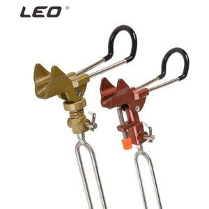 Image 2 - Aluminum Alloy Turret Bracket Insertion Auto Adjustable Fishing Rod Holder Max Tension 50kg Bracket Pole Ground Inserted Tools