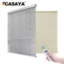 Индивидуальные размеры электрические жалюзи затемненные водонепроницаемые рулонные шторы алюминиевые моторизованные жалюзи для кухни/ванной 1 м x 1 м