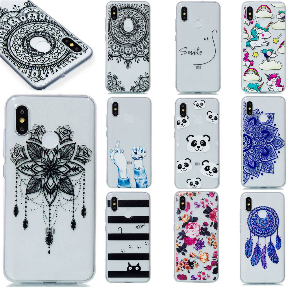 Cartoon Phone Cases For <font><b>Xiaomi</b></font> <font><b>Mi8</b></font> <font><b>6GB</b></font> 64GB <font><b>128GB</b></font> 8GB 256GB Covers Cases For <font><b>Xiaomi</b></font> Mi 8 Explorer Mens Womans Strong Protector image