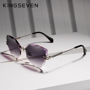 KINGSEVEN Sun glasses 2019 Women Sunglasses Vintage