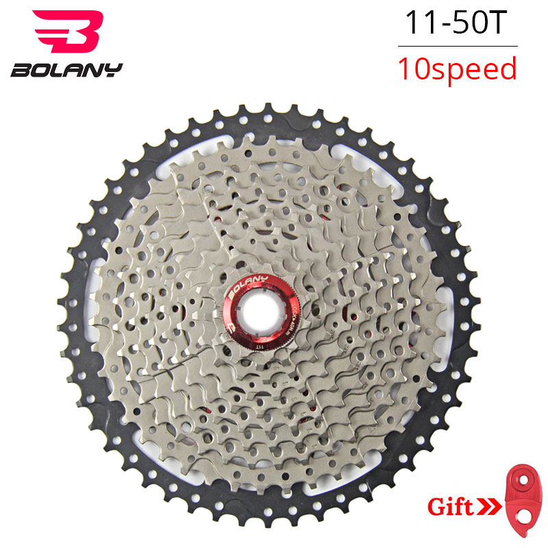 Bolany 10S 30S Speed 11 50T Freewheel Wide Ratio Bike Mountain Bicycle Flywheel Cassete For Bicycle