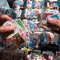 100 Unids/lote No Repetir Sellos Colecciones De Muchos Países Con Matasellos Postal Todo Usado, Regalo de colección