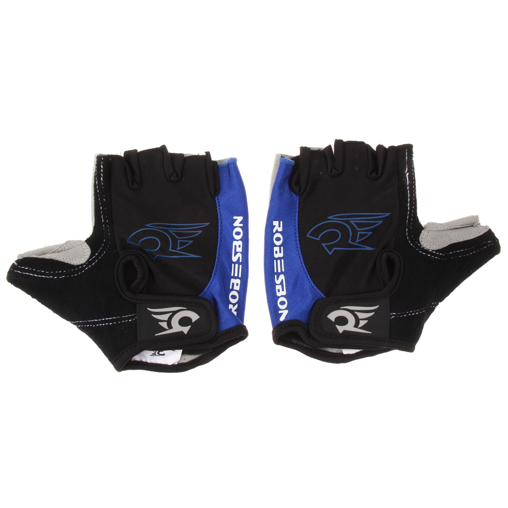 Motorcycle gloves half finger - Cool Unisex Cycling Gloves Men Sports Half Finger Anti Slip Gel Pad Motorcycle Mtb Road Bike