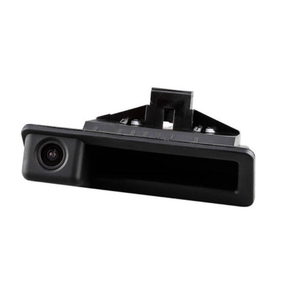Crngiar Rear View Camera Car Reverse Back Boot Trunk Handle Camera Special For BMW X5 X1 X6 E39  E53 E82 E88 E84 E90 E91 E92