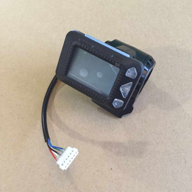液晶表示装置用5/5。5インチjackhot炭素繊維電気スクーターミニ折りたたみe-スクータースピードメーターオドメーターインジケータ