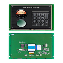 7 full color TFT LCD module with wide voltage and touch screen