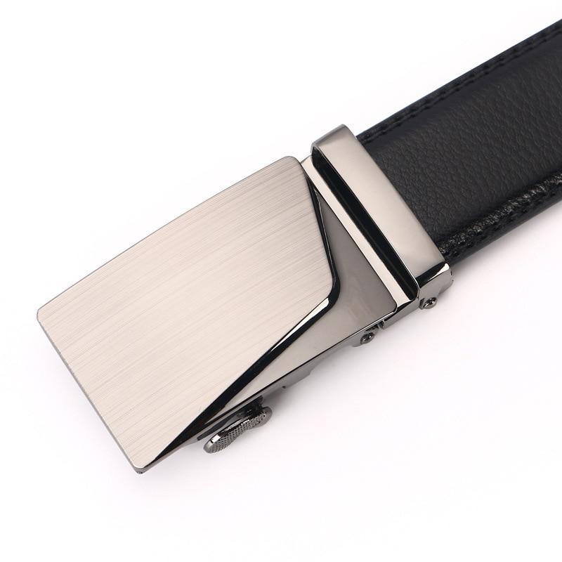 Mens Designer Belts 2018 Verkliga Äkta Läder Automatisk Spänne - Kläder tillbehör - Foto 2